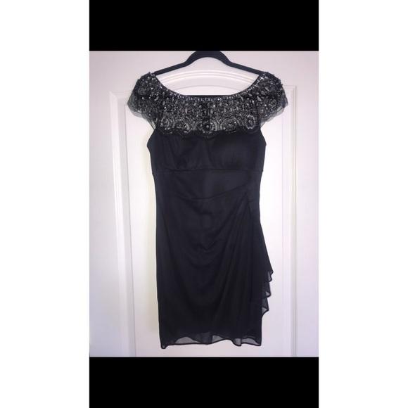 Nordstrom Dresses & Skirts - Embellished Grey Cocktail Dress Size 4